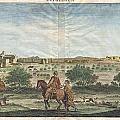 1698 De Bruijin View Of Bethlehem Palestine Israel Holy Land by Paul Fearn