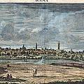 1698 De Bruijin View Of Rama Israel Palestine Holy Land by Paul Fearn