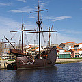 16th Century Ship by Paulo Goncalves