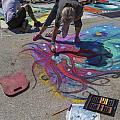 Lake Worth Street Painting Festival by Debra and Dave Vanderlaan