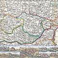 1710 De La Feuille Map Of Transylvania  Moldova by Paul Fearn