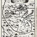 1719 Mallet Map Of The Source Of The Nile Ethiopia Abyssinia Geographicus Nil Mallet 1719 by MotionAge Designs