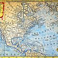 1747 Bowen Map Of North America Geographicus Northamerica Bowen 1747 by MotionAge Designs