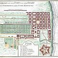 1750 Bellin Map Of Cape Town South Africa by Paul Fearn