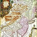 1756 Lotter Map Of Pennsylvania New Jersey New York Geographicus Pensylvanianovajersey Lotter 1756 by MotionAge Designs