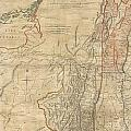 1768 Holland  Jeffreys Map Of New York And New Jersey  by Paul Fearn