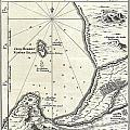 1773 Bellin Map Of The Cape Of Good Hope Capetown South Africa by Paul Fearn