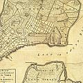 1776 New York City Map by Dan Sproul