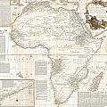 1787 Boulton  Sayer Wall Map Of Africa by Paul Fearn