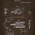 1794 Eli Whitney Cotton Gin Patent 2 Espresso by Nikki Marie Smith