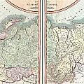 1799 Cary Map Of The Russian Empire by Paul Fearn