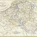1799 Clement Cruttwell Map Of Belgium Or The Netherlands by Paul Fearn