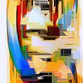 Abstract Series Iv by Rafael Salazar