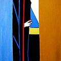 Behind The Door by Nora Shepley