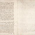 Drawings By Leonardo Da Vinci by British Library