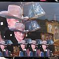 21 Duke's John Wayne Cardboard Cutout Collage Tombstone  Arizona 2004-2009 by David Lee Guss