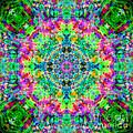 Rainbow Light Mandala by Susan Bloom