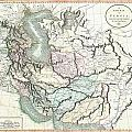 1801 Cary Map Of Persia  Iran Iraq Afghanistan by Paul Fearn