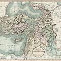 1801 Cary Map Of Turkey Iraq Armenia And Sryia by Paul Fearn