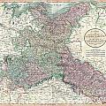 1801 Cary Map Of Upper Saxony Germany  Berlin Dresden by Paul Fearn