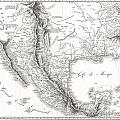 1811 Humboldt Map Of Mexico Texas Louisiana And Florida by Paul Fearn