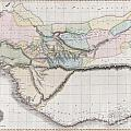 1813 Pinkerton Map Of Western Africa by Paul Fearn