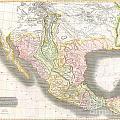 1814 Thomson Map Of Texas Mexico  Louisiana by Paul Fearn