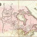 1818 Pinkerton Map Of British North America Or Canada by Paul Fearn