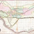 1818 Pinkerton Map Of Western Africa  by Paul Fearn