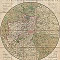1820 Mogg Pocket Or Case Map Of London by Paul Fearn
