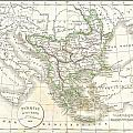 1832 Delamarche Map Of Greece And The Balkans by Paul Fearn