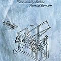 1836 Wood Molding Machine by Dan Sproul