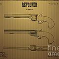 1837 Leavitt Revolver Patent Art 2 by Nishanth Gopinathan