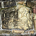 1845 Republic Of Texas - Carved In Stone by Ella Kaye Dickey
