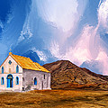 1855 Church At Cape Verde by Dominic Piperata