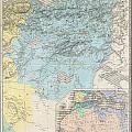 1857 Dufour Map Of Constantine Algeria by Paul Fearn