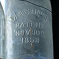 1858 Masons Jar by David Lee Thompson