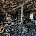 1860's Blacksmith Shop - Nevada City Ghost Town - Montana by Daniel Hagerman