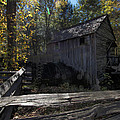 1868 Cable Mill At Cades Cove Tennessee by Kathy Clark