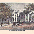 1870's White House by Charles Somerville