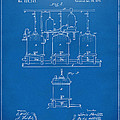 1873 Brewing Beer and Ale Patent Artwork - Blueprint by Nikki Marie Smith