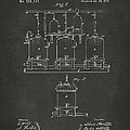 1873 Brewing Beer and Ale Patent Artwork - Gray by Nikki Marie Smith