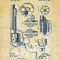 1875 Colt Peacemaker Revolver Patent Vintage by Nikki Marie Smith