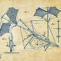 1879 Quinby Aerial Ship Patent Minimal - Vintage by Nikki Marie Smith