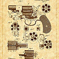 1881 Mason Revolver Firearm Patent by Barry Jones