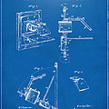 1881 Taylor Camera Obscura Patent Blueprint by Nikki Marie Smith