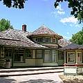 1887 Depot by Laurie Eve Loftin