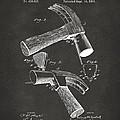 1890 Hammer Patent Artwork - Gray by Nikki Marie Smith