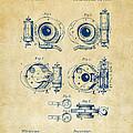 1892 Barker Camera Shutter Patent Vintage by Nikki Marie Smith