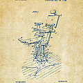 1896 Dental Chair Patent Vintage by Nikki Marie Smith